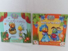 Adorable Set 5 of Two 'Fifi & the Flowertots' Glossy Bedtime Story Books